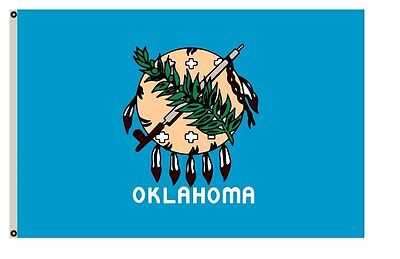 The State of Oklahoma Flag 3x5ft
