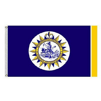 City of Nashville Flag and Banner Size 3x5 Feet