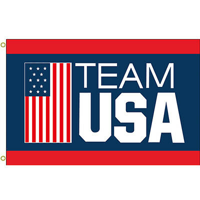 USA Olympic Team Hanging Banner Flag (3ftx5ft)