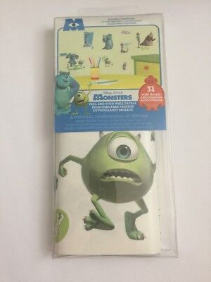 Monster Inc Peel And Stick Wall Decals
