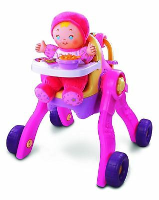 VTech Baby Amaze 3-in-1 Care and Learn Stroller(French Version)
