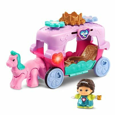 VTech 80198500 Go! Go! Smart Friends Trot and Travel Royal Carriage Playset