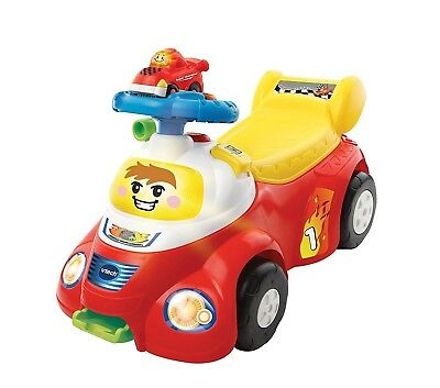 VTECH Go! Smart Wheels Launch and Go Ride on (French Version)(80192605)