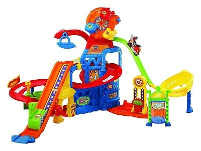 VTECH 80504006 Go! Go! Smart Wheels Race & Play Adventure Park French Version