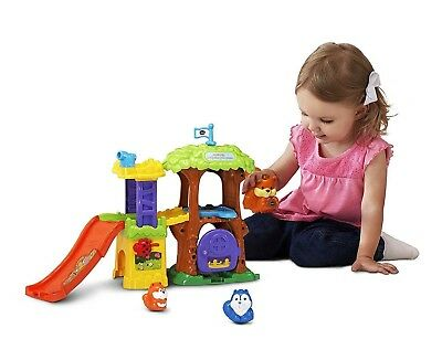 VTech 80500700 Go! Go! Smart Animals Squirrelly Adventure Tree House Playset