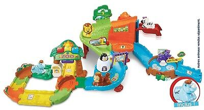 VTech Go! Go! Smart Animals, Zoo Explorers Playset (French Version)