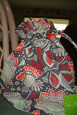 "Vera Bradley Lighten Up  Ditty Bag ""nomadic Floral"" Nwt!  $28 Retail"