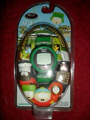 South Park Kyle C Watch Trendmasters Unopened 1998 Rare Animation Sounds