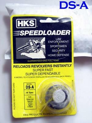 HKS DS-A Speed Loader for COLT 38 Detective Special Cobra Diamondback 6 Shot 38