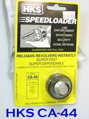 HKS CA-44 Speed Loader for CHARTER ARMS 44 Bulldog 5-Shot TAURUS 450 S&W 696