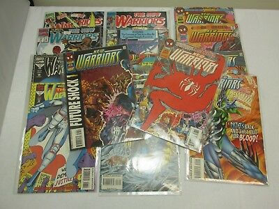Lot of 15 The New Warriors Marvel Comic Books - Issues 63-68, 43-45 & More