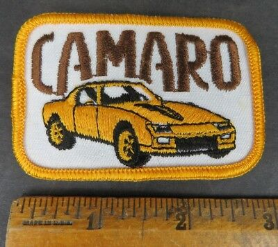 CAMARO car vintage 1970s patch Chevrolet 3""