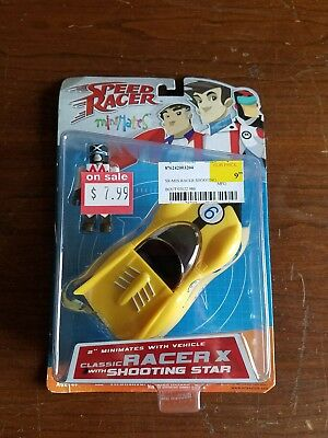 Speed Racer Mini Mates Classic Racer X with Shooting Star New in package