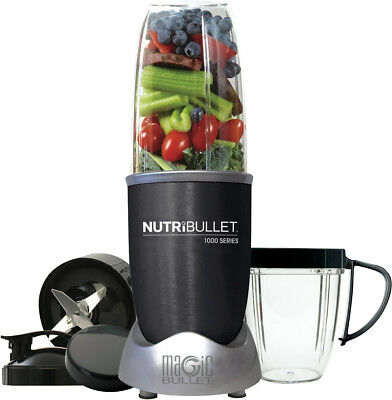 NEW NUTRIBULLET N10-0907DG 1000W Series 9 Piece Set