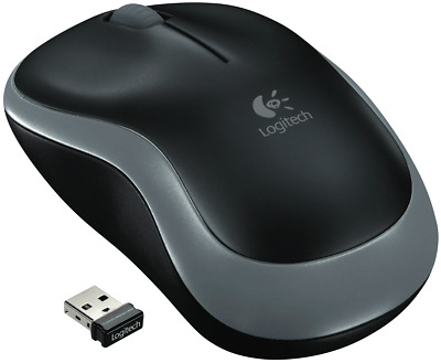 NEW Logitech 1685685 Wireless Mouse Grey M185