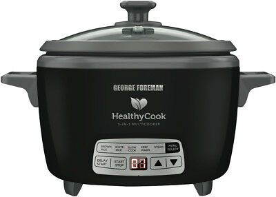 NEW George Foreman GFMC14 Healthycook 5 in 1 Multi Cooker
