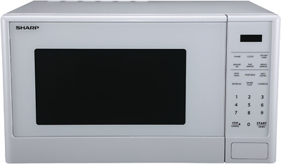 NEW Sharp R-330E(W) 1100W White Mid Size Microwave