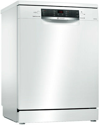 NEW Bosch SMS66MW01A White Freestanding Dishwasher