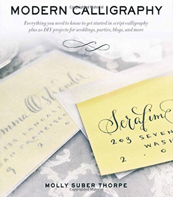 Thorpe, Molly Suber-Modern Calligraphy  (UK IMPORT)  BOOK NEW