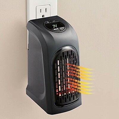 Mini Electric Home Kitchen Handy Heater Stove Hand Warmer Plug-In Wall Heater