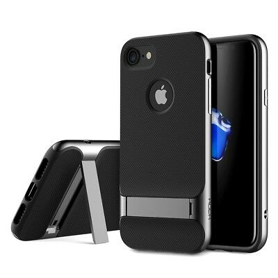 ROCK Royce Hybrid Shockproof Case with Kickstand for iPhone 7, 7 Plus, 8, 8 Plus