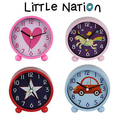 Little Nation Kids Alarm Clock, Watch bedroom design Colorful