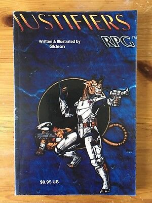 RPG Justifiers - Core - StarChilde Publications - Gideon - 3rd Printing