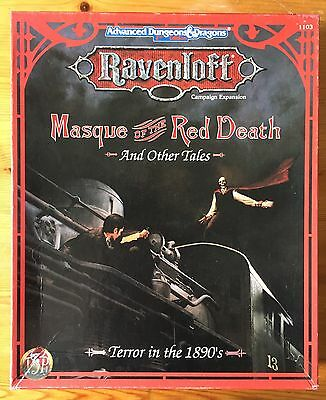 Masque of the Red Death and Other Tales - Ravenloft Campaign - AD&D