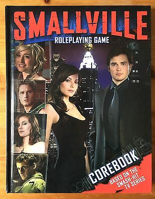 SMALLVILLE ROLEPLAYING GAME - COREBOOK - RPG DC Superman Cortex The CW