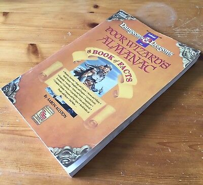 D&D Challenger Series Poor Wizards Almanac I & Book of Facts