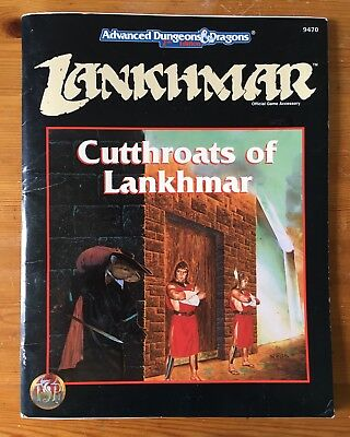 Cutthroats of Lankhmar - Advanced Dungeons and Dragons 2nd Edition - 9470