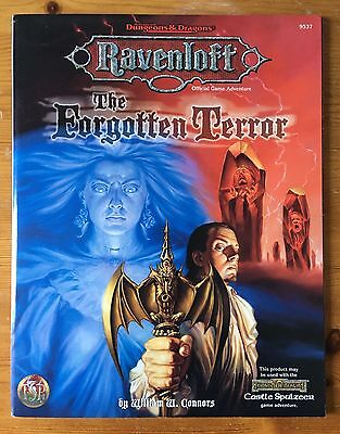 The Forgotten Terror - Ravenloft #9537 - AD&D WOTC TSR