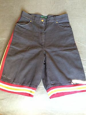Junior Gaultier : Vintage Long Shorts  (Baseball) 1980's Collectable Excel Cond