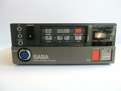 CVR-6073, SABA Compact Video Recorder for VHS-C tapes