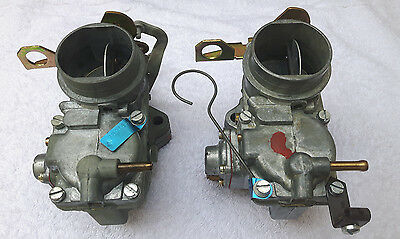 Pair of Solex 35PDSI Carburettor Opel Kadett 11SR