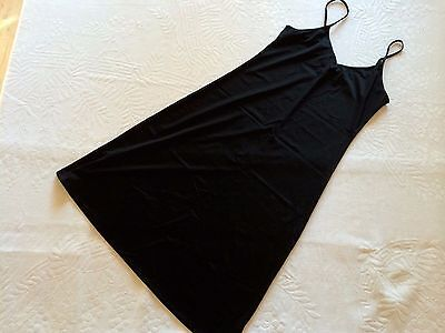LADIES BLACK SLIP REVERSIBLE size 8