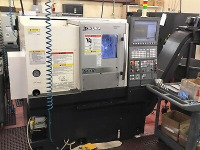 2016 Okuma Genos L250 Cnc Lathe, Parts Catcher, Tool Setter, Two Chucks