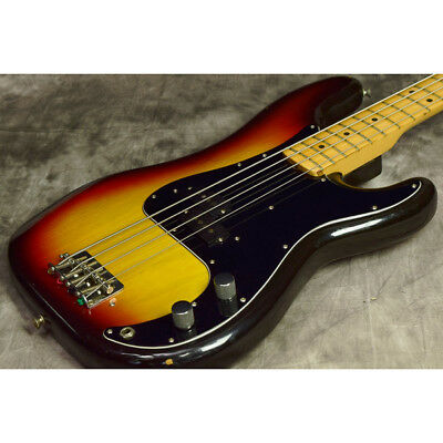 Fender / Made in 1977 Precision Bass Sunburst from JAPAN