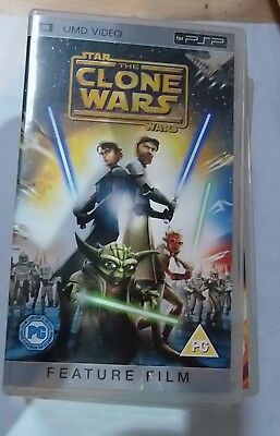 Star Wars, Clone Wars (Sony PSP UMD Video) Free Postage