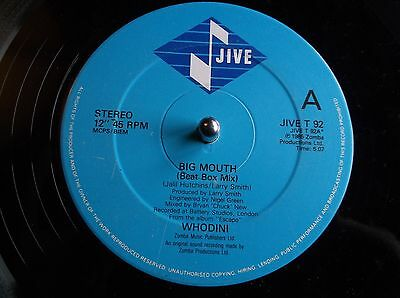 Whodini ‎– Big Mouth