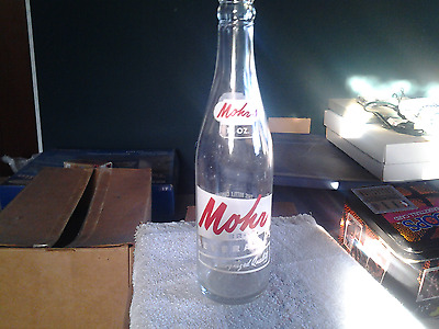 Vintage 1968 Mohr Bros Soda Pop Bottle 12 oz ACL Advertising Toledo Ohio Mohrs