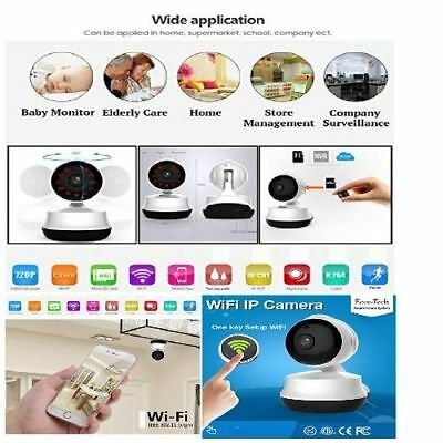 Baby Monitor Video Camera Digital Wifi Infant With Night Vision Wireless