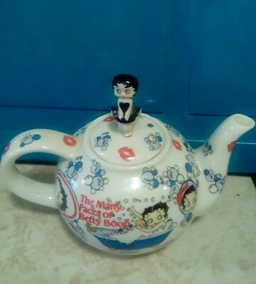 betty boop teapot cardew design 2003 the many faces of betty boop