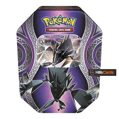 Pokemon Necrozma GX Fall / Autumn 2017 Collectors Tin: Booster Packs Promo Card