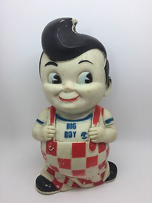 "Vintage 10"" BIG BOY Vinyl Doll Coin Bank (RF530)"