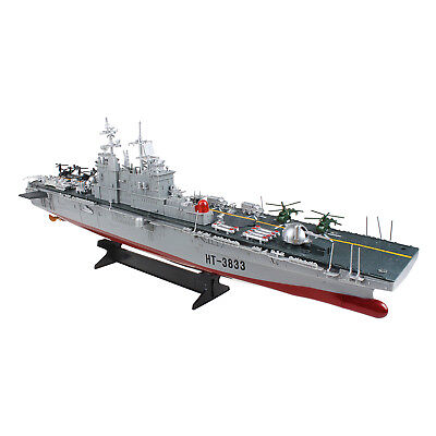 RC Boat 2 4GHz Remote Control Ship Aircraft Carrier Warship