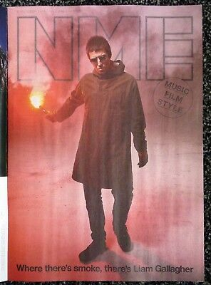 NME Magazine 6 October 2017 Liam Gallagher Tom Petty BoJack Horseman M Cera