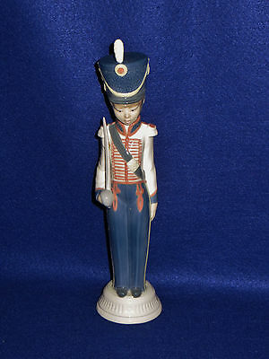 "Lladro ""cadet Captain"" Porcelain Figurine  6Th Mark Signed - #5404 - Gloss - Mib"