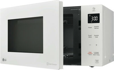 NEW LG MS2536DW NeoChef 25L 1000W Inverter White Microwave