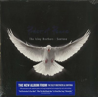 The Isley Brothers & Santana Power Of Peace Doppio Vinile Lp Nuovo Sigillato
